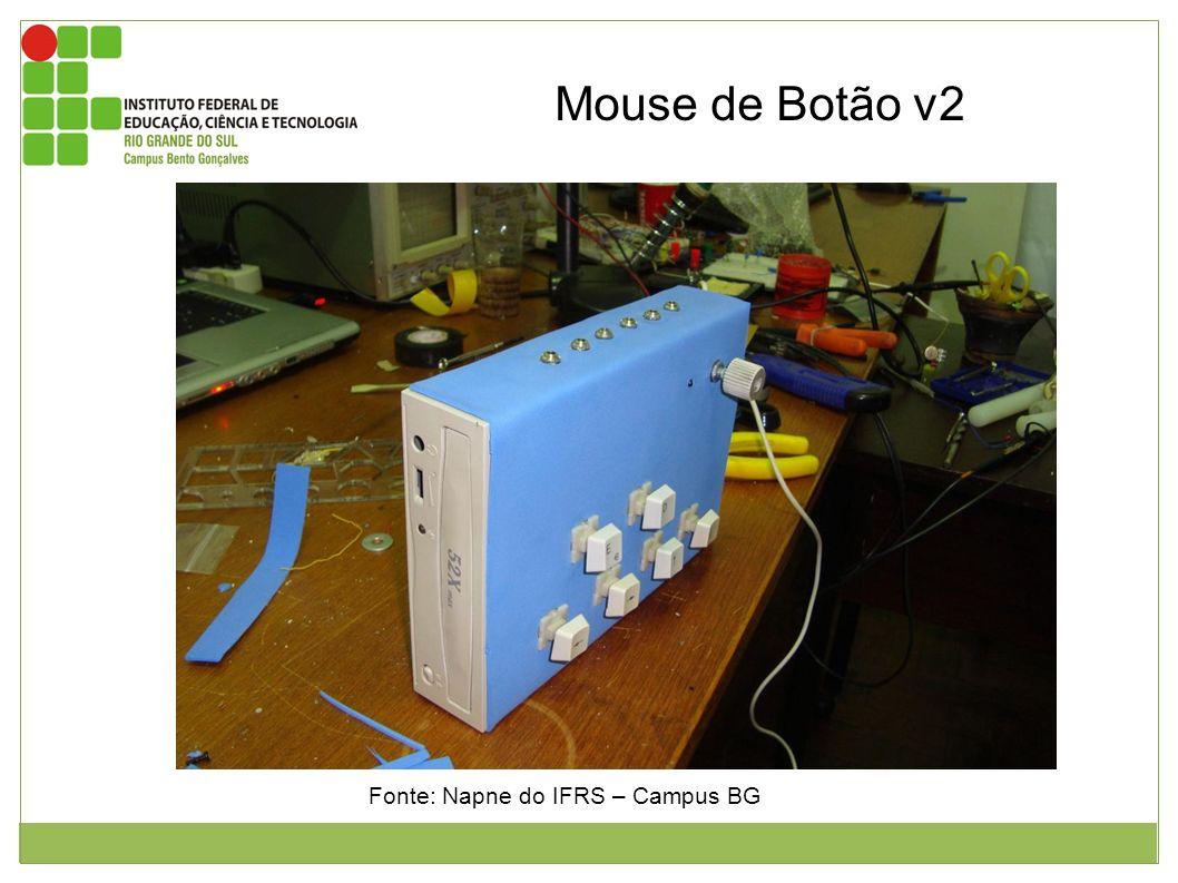 Mouse de Botão v2 Fonte: Napne do IFRS – Campus BG