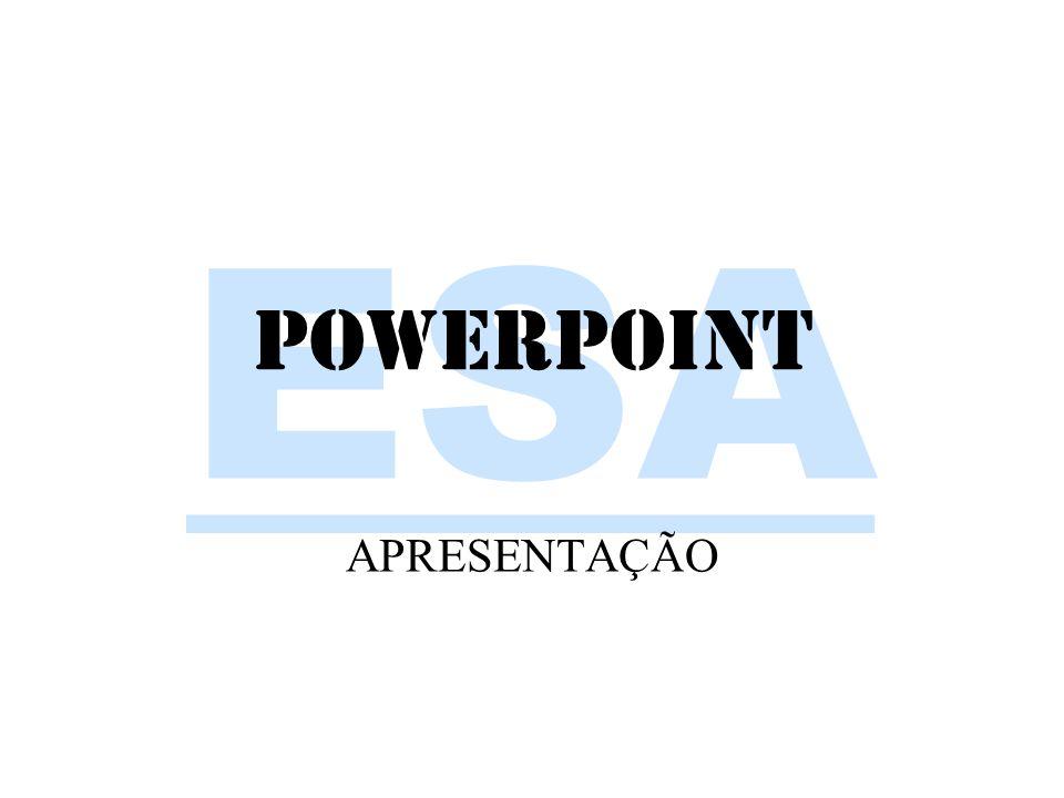 PowerPoint APRESENTAÇÃO powerpoint