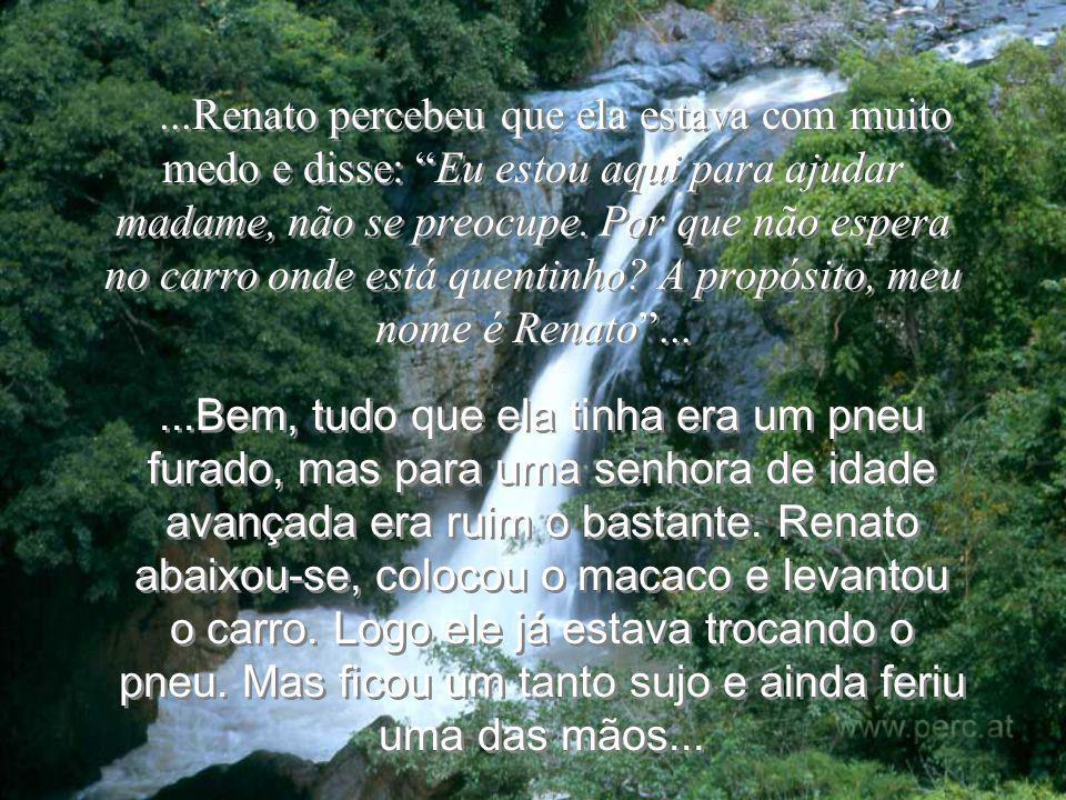 -Tudo ficará bem; eu te amo......Renato!
