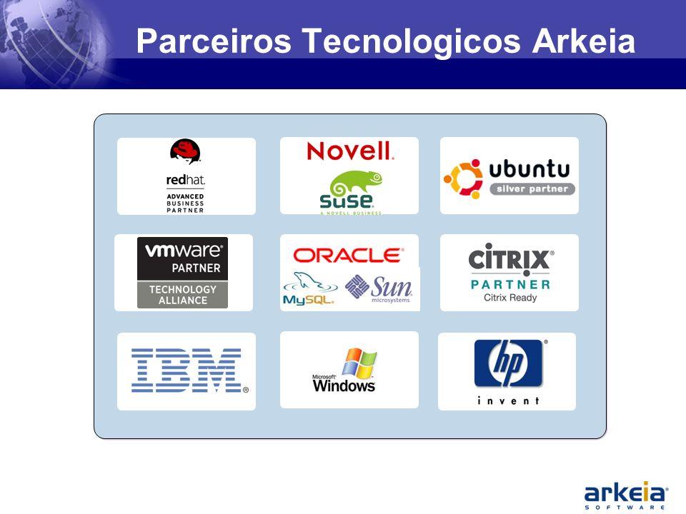 Parceiros Tecnologicos Arkeia