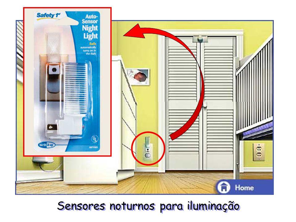Sensores noturnos para iluminação