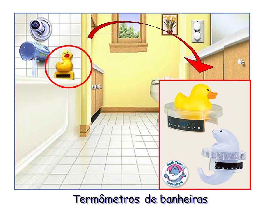 Termômetros de banheiras