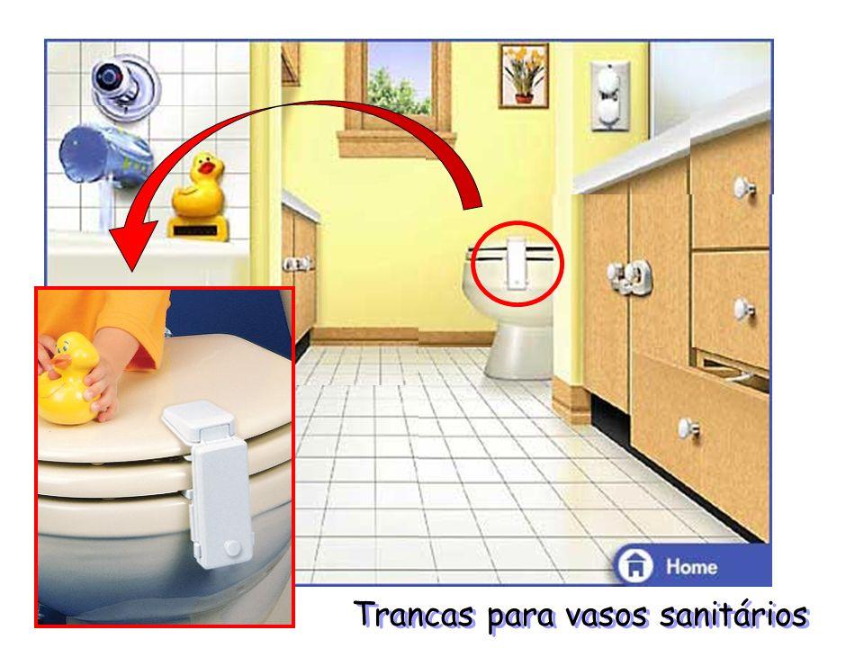 Trancas para vasos sanitários