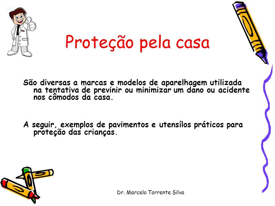 Dr. Marcelo Torrente Silva São diversas a marcas e modelos de aparelhagem utilizada na tentativa de previnir ou minimizar um dano ou acidente nos cômo