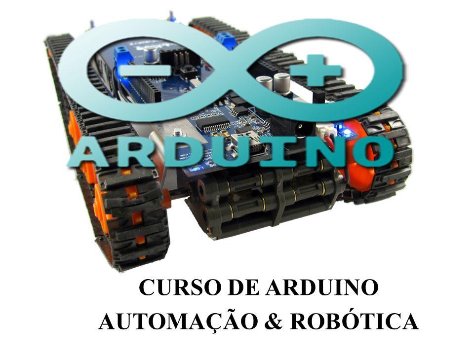 CARACTERÍSTICAS E SIMPLICIDADE Utiliza microcontrolador AtMEGA 8,168, 328,1280, 2560.