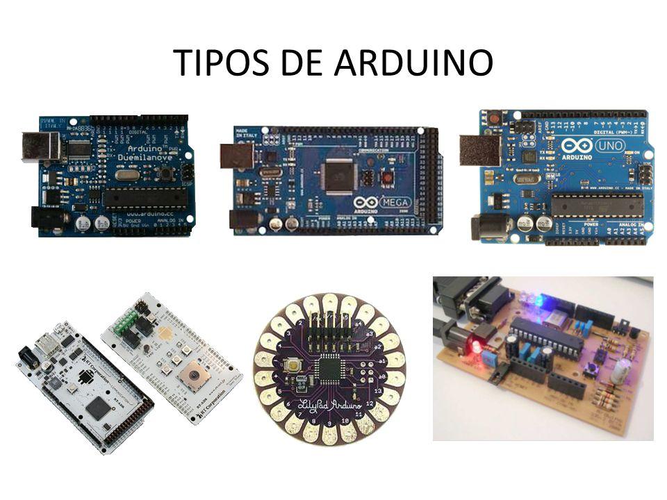 CARACTERÍSTICAS DO ARDUINO UNO MicrocontroladorAtmega 328 Voltagem Operacional5V Voltagem de entrada (recomendada)7-12V Voltagem de entrada (limites)6-20V Pinos E/S digitais14 (dos quais 6 podem ser saídas PWM) Pinos de entrada analógica6 Corrente CC por pino E/S40 mA Corrente CC para o pino 3,3V50 mA Flash Memory 32 KB (ATmega328) dos quais 0,5KB são utilizados pelo bootloader SRAM2 KB (ATmega328) EEPROM1 KB (ATmega328) Velocidade de Clock16 MHz