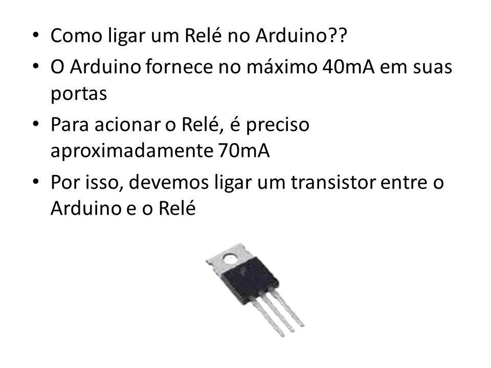 Como ligar um Relé no Arduino?.