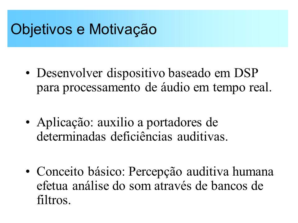 Processamento Tempo-Freqüência de Sinais Auditivos Guido Stolfi PEE-5752 - EPUSP Junho / 2003