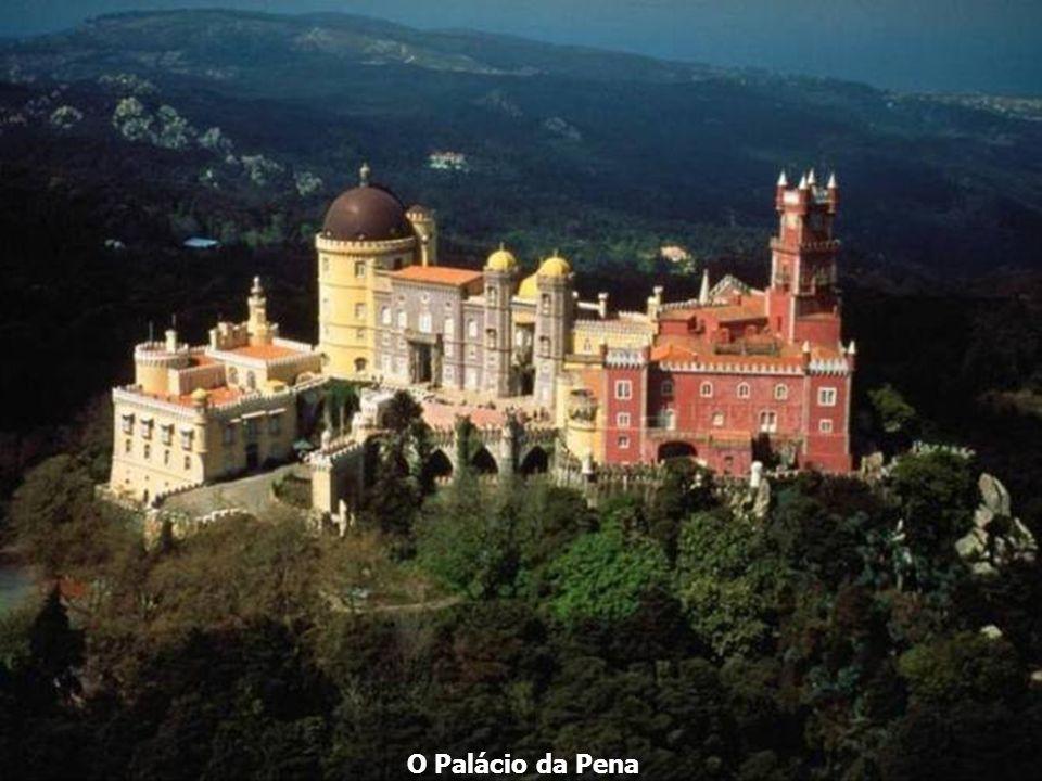 A Serra de Sintra. Camões cantou-a em Os Lusíadas e Lord Byron nela se inspirou