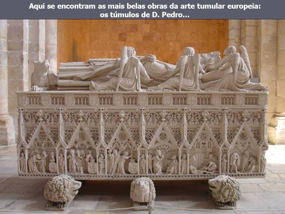 Uma coroa da Ordem Beneditina, uma etapa de Portugal.