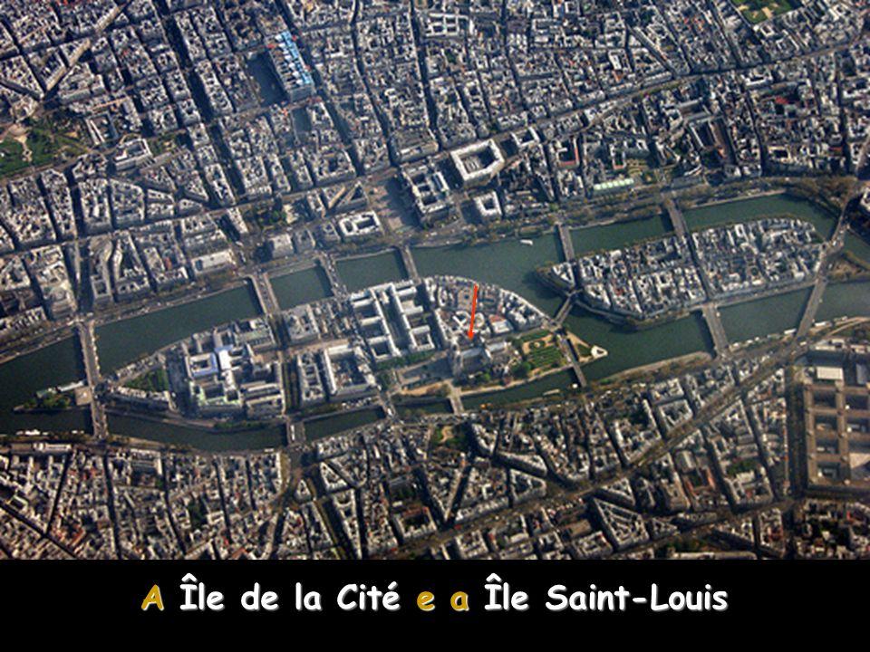 A Île de la Cité e a Île Saint-Louis NOTRE-DAME