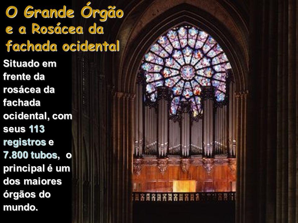 O Grande Órgão Datando originalmente do século XIV, só doze dos seus 32 tubos são originais e já foi alvo de várias restaurações.