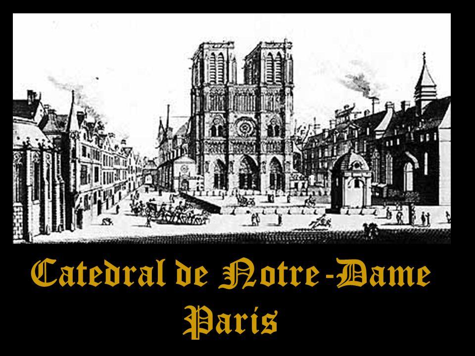 O INTERIOR DE NOTRE-DAME Os Vitrais de Notre-Dame constituem todo um capítulo à parte, dada sua magnificência.