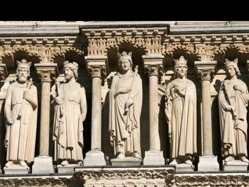 Galeria dos reis Rosácea Balaustrada