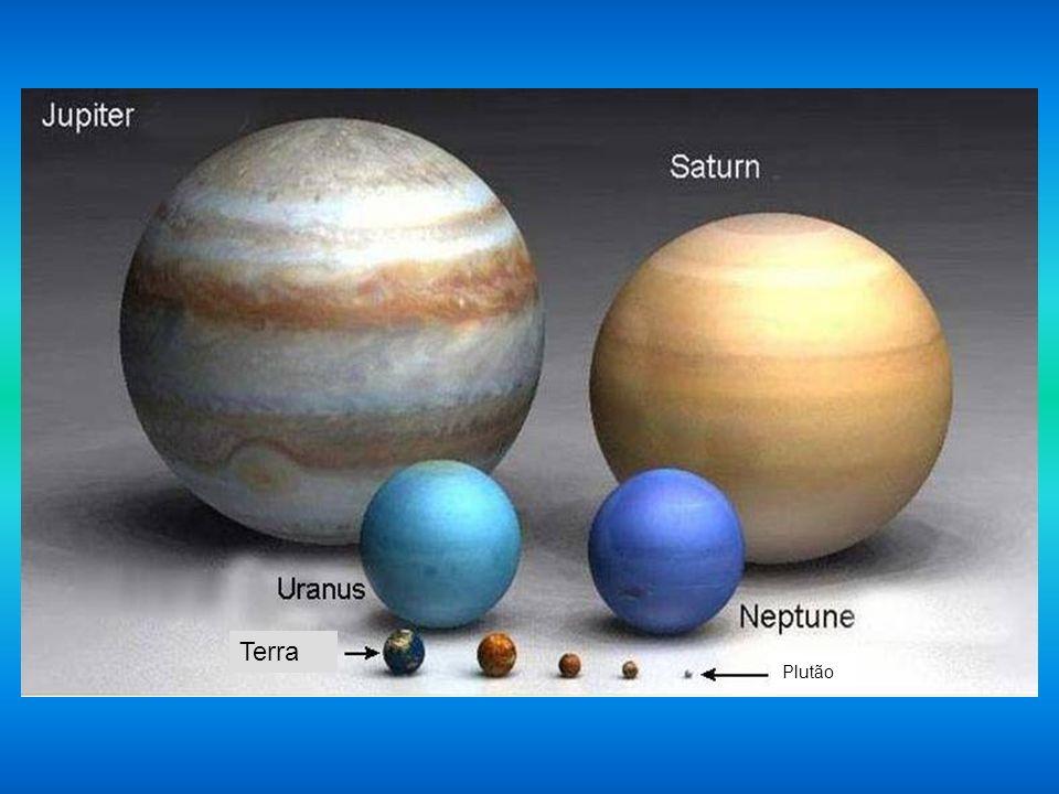 Terra Venus MarteMercúrio Plutão