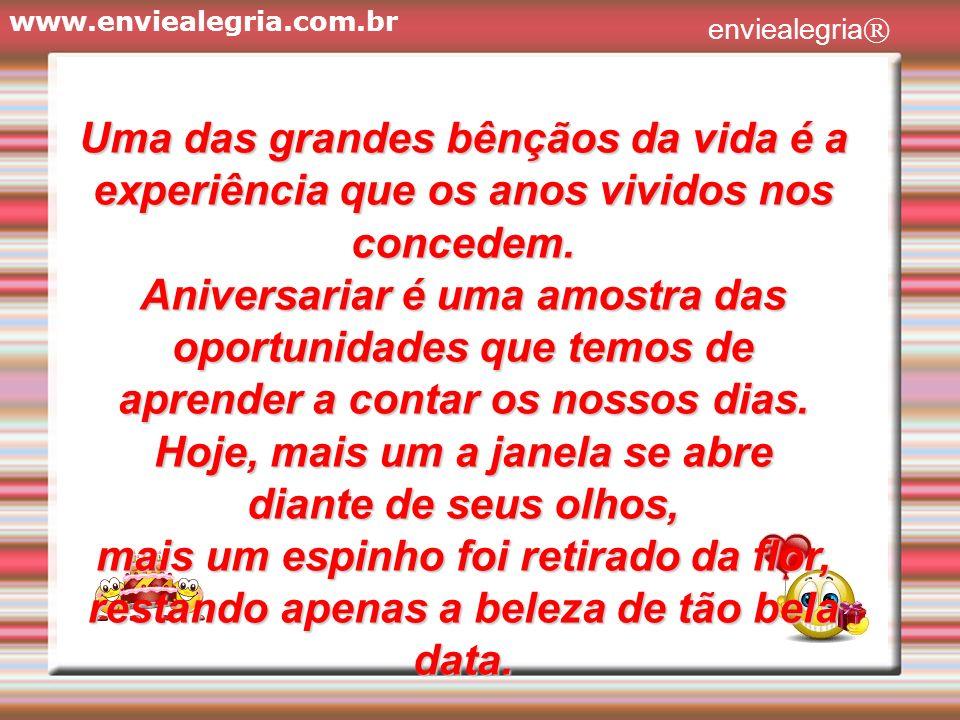 www.enviealegria.com.br enviealegria ®