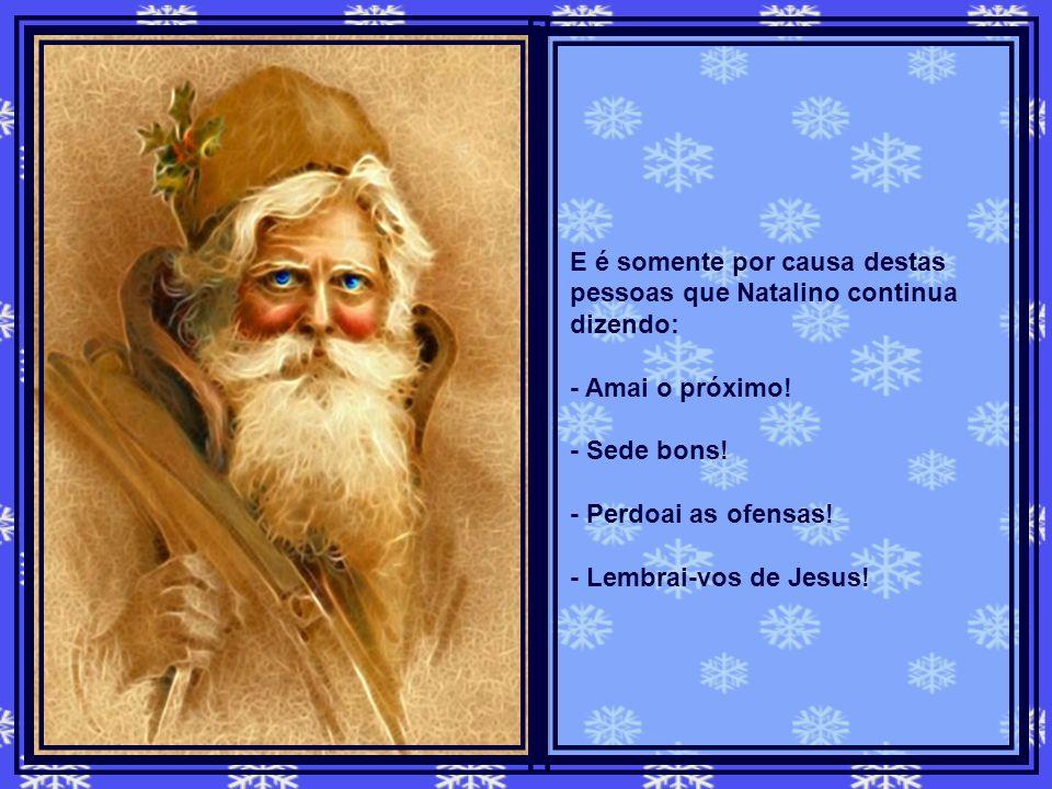Quando isso acontece, o Espírito Natalino pensa até em desistir de sua missão de fazer as pessoas viverem o verdadeiro sentido do Natal. Mas ainda exi