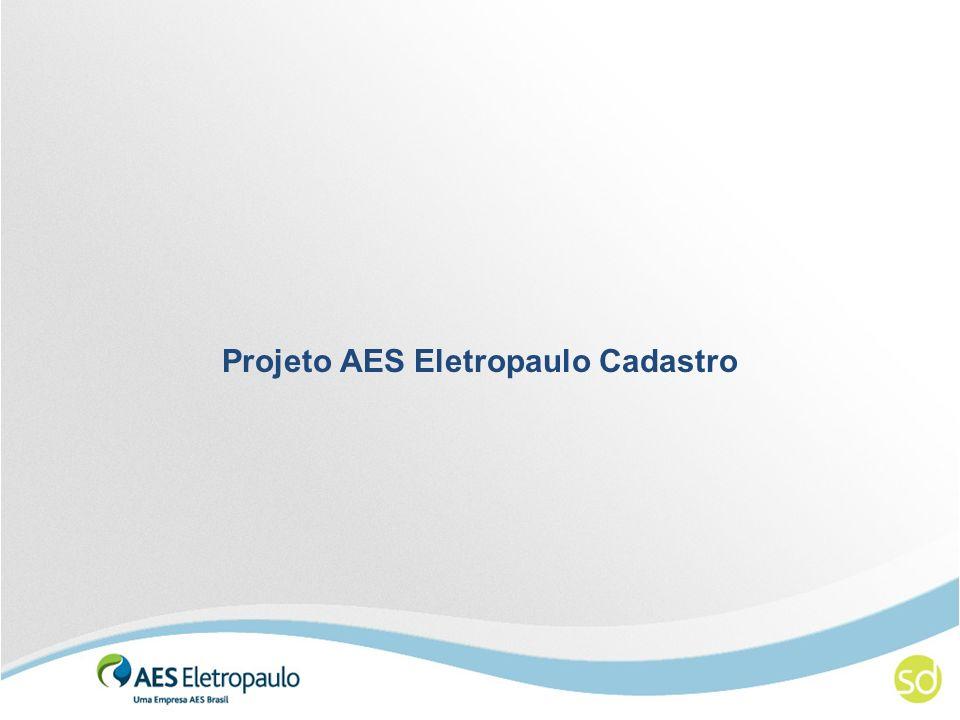 Projeto AES Eletropaulo Cadastro