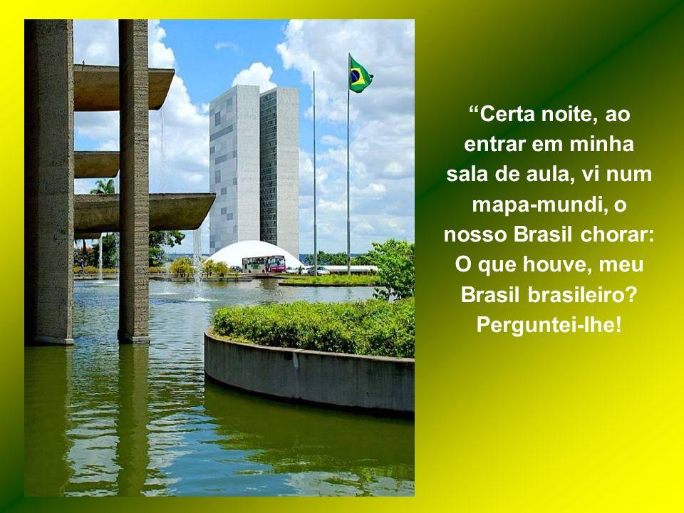 Leiam o que escreveu essa jovem. É uma demonstração pura de amor à Pátria e uma lição a tantos brasileiros que já não sabem mais o que é este sentimen