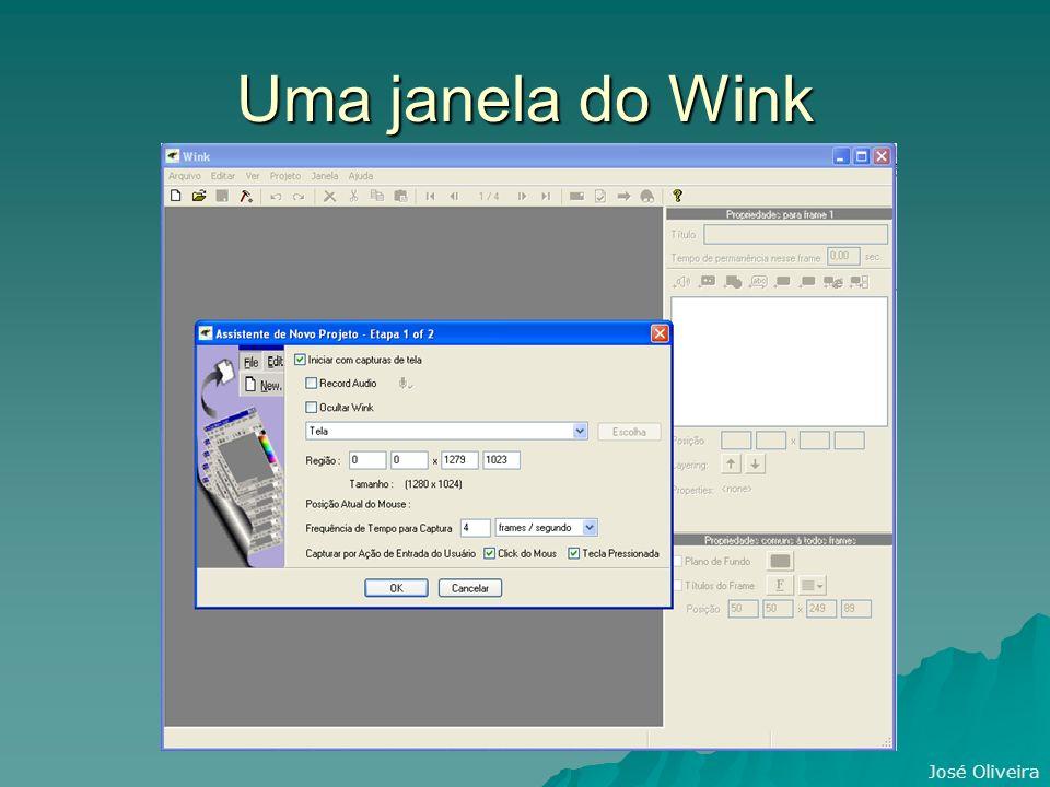 José Oliveira Uma janela do Wink