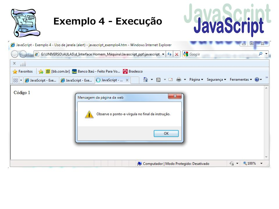 Exemplo 4 - Execução
