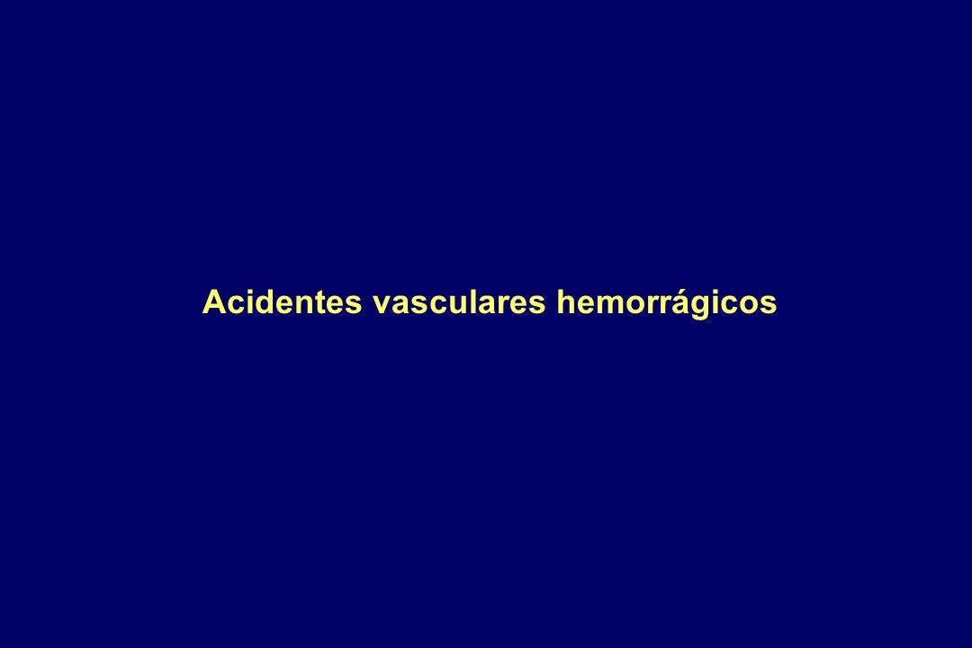 Acidentes vasculares hemorrágicos