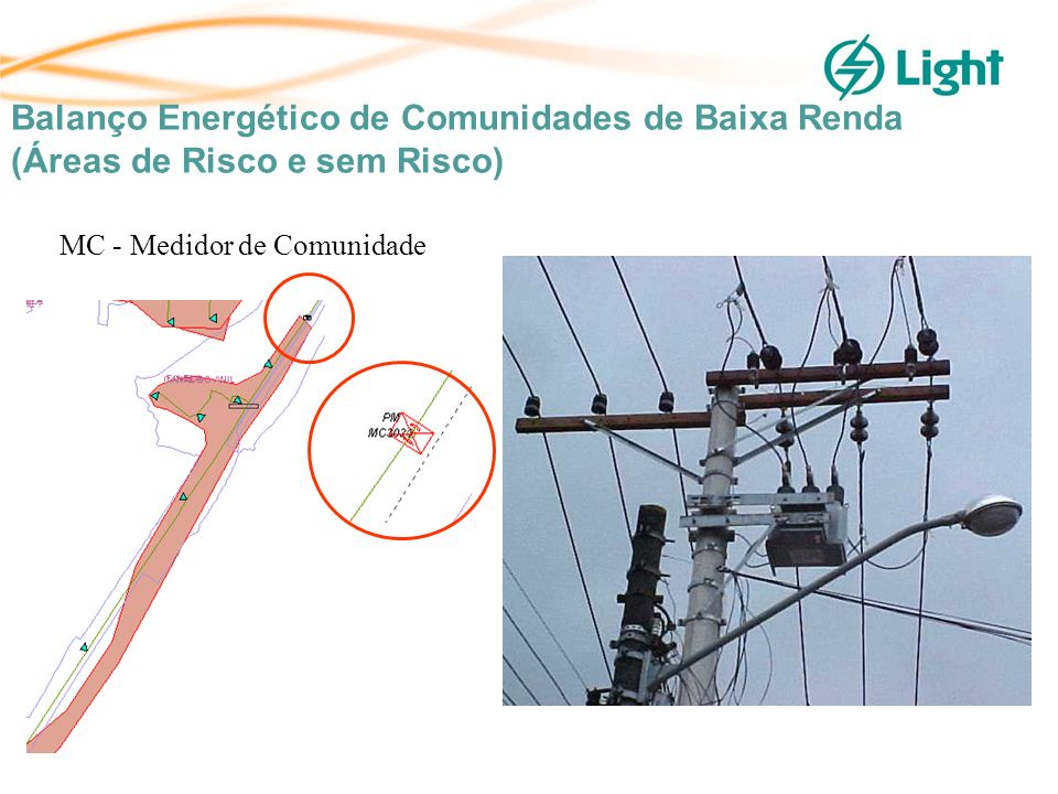 MC - Medidor de Comunidade Balanço Energético de Comunidades de Baixa Renda (Áreas de Risco e sem Risco)