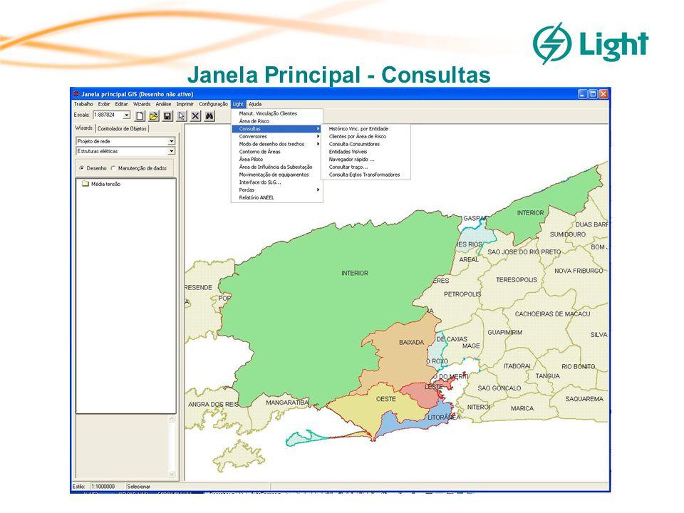 por Subestação (SE) – Regionais por Transformador de Subestação (TR) – Regionais por Linha de Distribuição (LD) – Regionais de Comunidades (Baixa Renda/Área de Risco) – Regionais de Zona de Distribuição (ZNA) – Regionais de Área Piloto – Regionais Mapeamento das Perdas Balanços Energéticos da Distribuição, por agrupamento elétrico, realizados no SGD – mapeamento das perdas