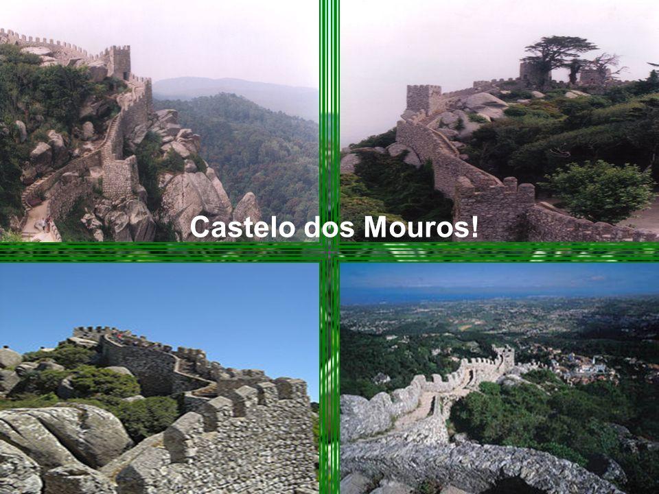 É na serra de Sintra, que podemos encontrar: O Castelo dos Mouros!O Palácio da Pena.