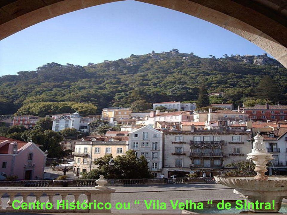 Sintra… vila romântica, de ruelas e história escondida.