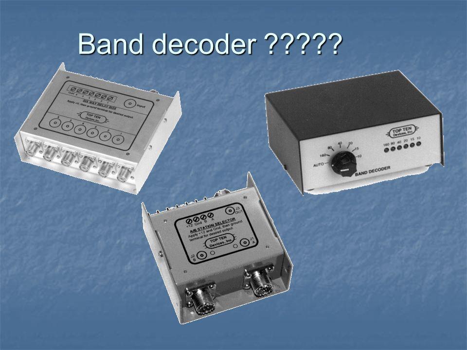 Band decoder ?????