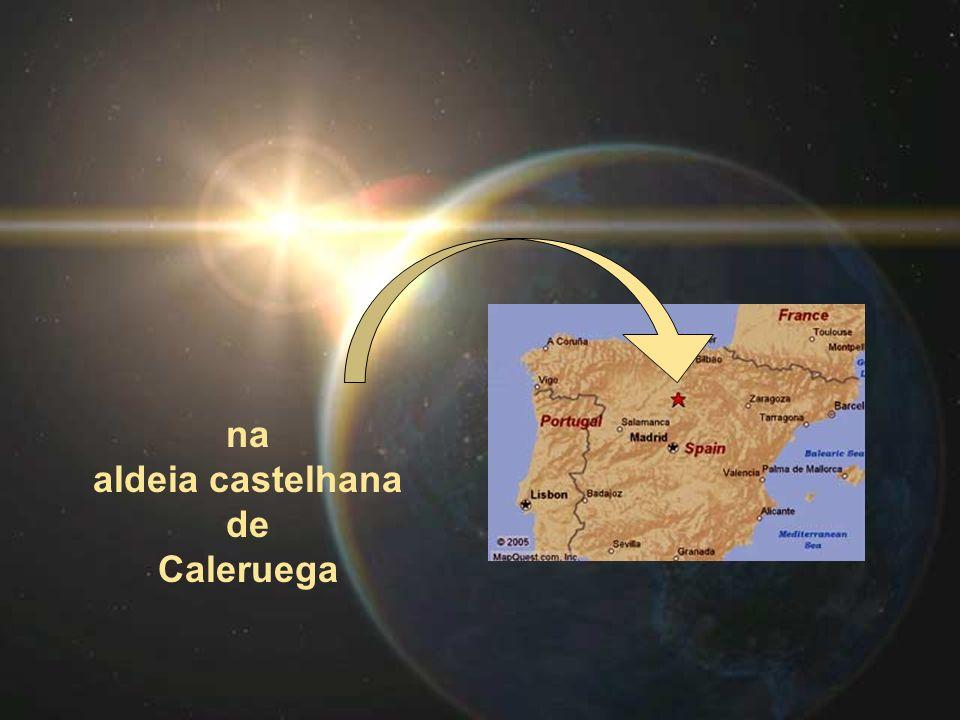 na aldeia castelhana de Caleruega
