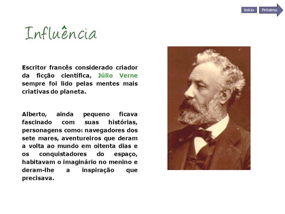 Início Próximo Escritor francês considerado criador da ficção científica, Júlio Verne sempre foi lido pelas mentes mais criativas do planeta. Alberto,