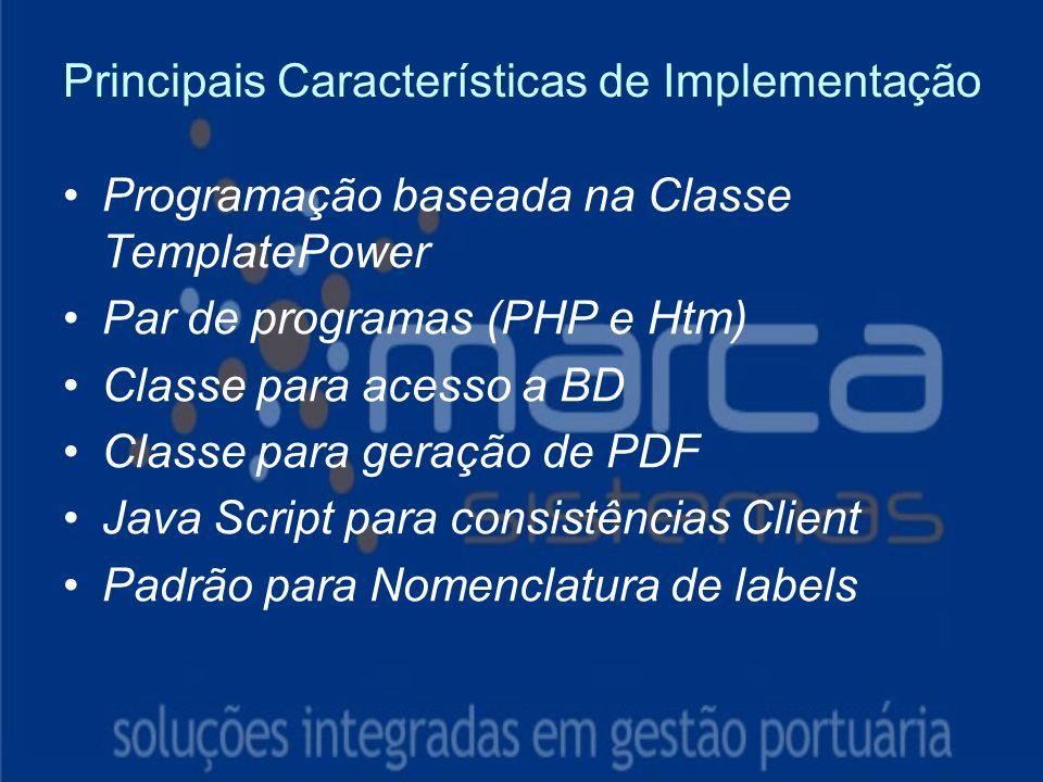 Principais Características de Implementação Instruções: Exclua o ícone do documento de exemplo e substitua-o pelos do documento de trabalho: Crie um documento no Word.