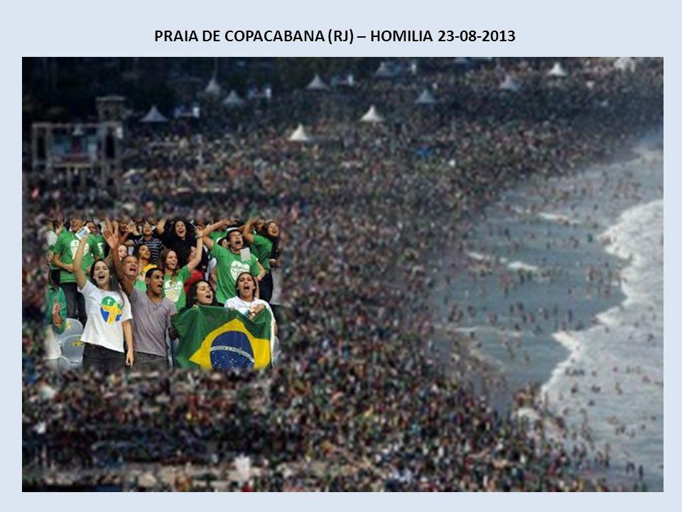 PALÁCIO GUANABARA (RJ) – DISCURSO – DIA 22-07-2013 JUVENTUDE A juventude é a janela pela qual o futuro entra no mundo e, por isso, nos impõe grandes d