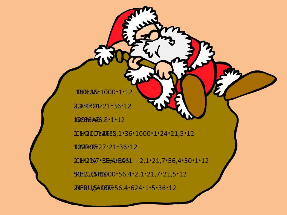 BOLAS CARROS GOMAS CHOCOLATES LIVROS CHUPA – CHUPAS PELUCHES REBUÇADOS 150 36 1000 1 12 2,1 1 21 21 36 12 10 36 46,8 1 12 2,1 21,7 36 2,1 36 1000 1 24