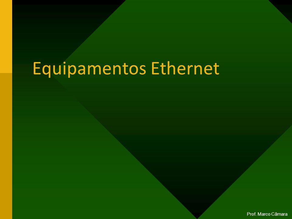 Equipamentos Ethernet Prof. Marco Câmara