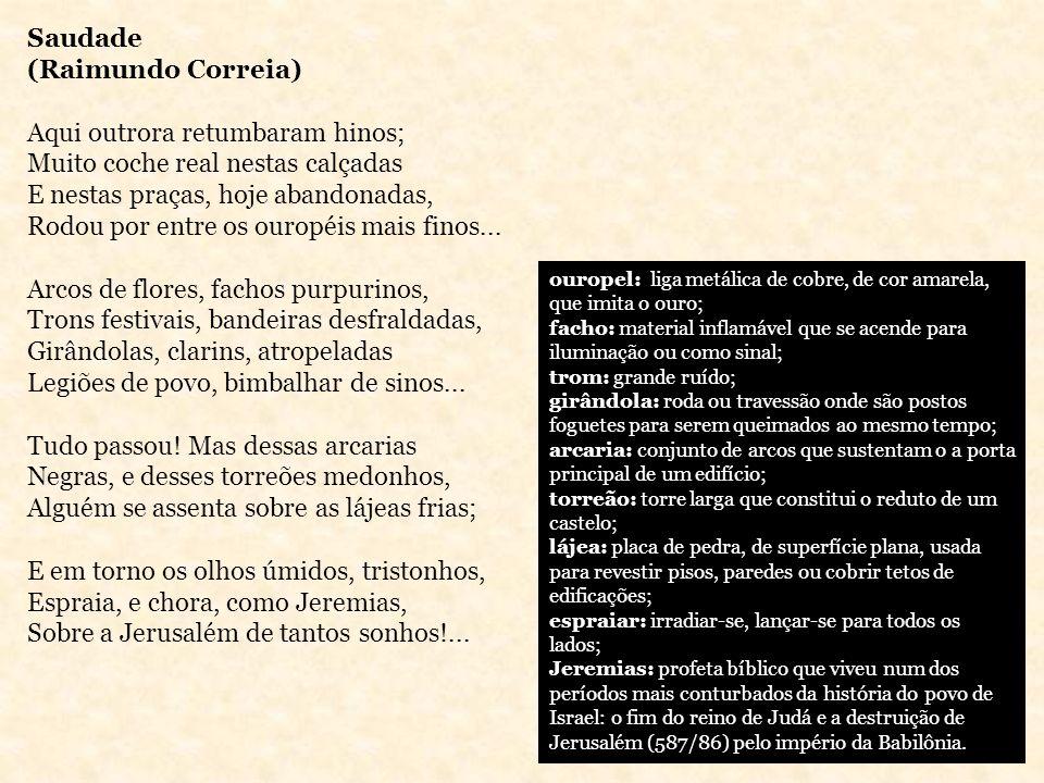 Alberto de Oliveira É considerado o líder do Parnasianismo; Sua poesia é a que melhor se adéqua aos princípios do movimento; Distancia-se dos problemas sociais para buscar inspiração nos modelos clássicos.