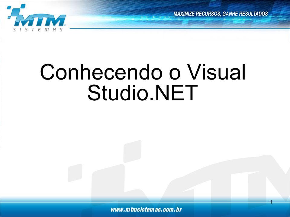 Conhecendo o Visual Studio.NET 1