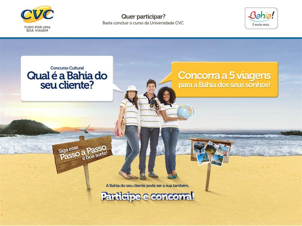 Acesse a Universidade CVC pelo www.universidadecvc.com.br.
