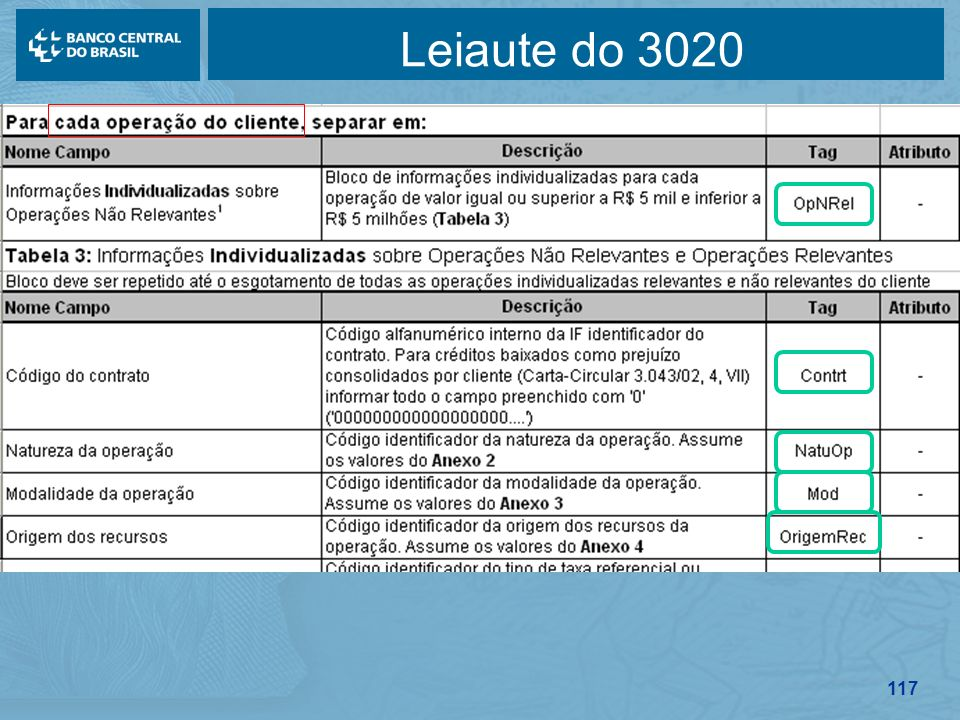 117 Leiaute do 3020
