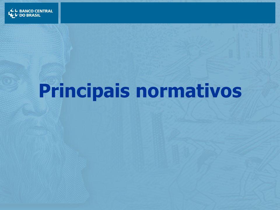 Principais normativos