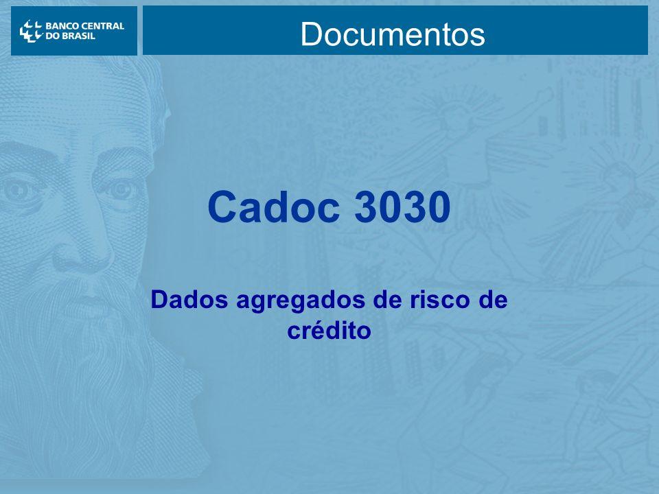 Cadoc 3030 Dados agregados de risco de crédito Documentos