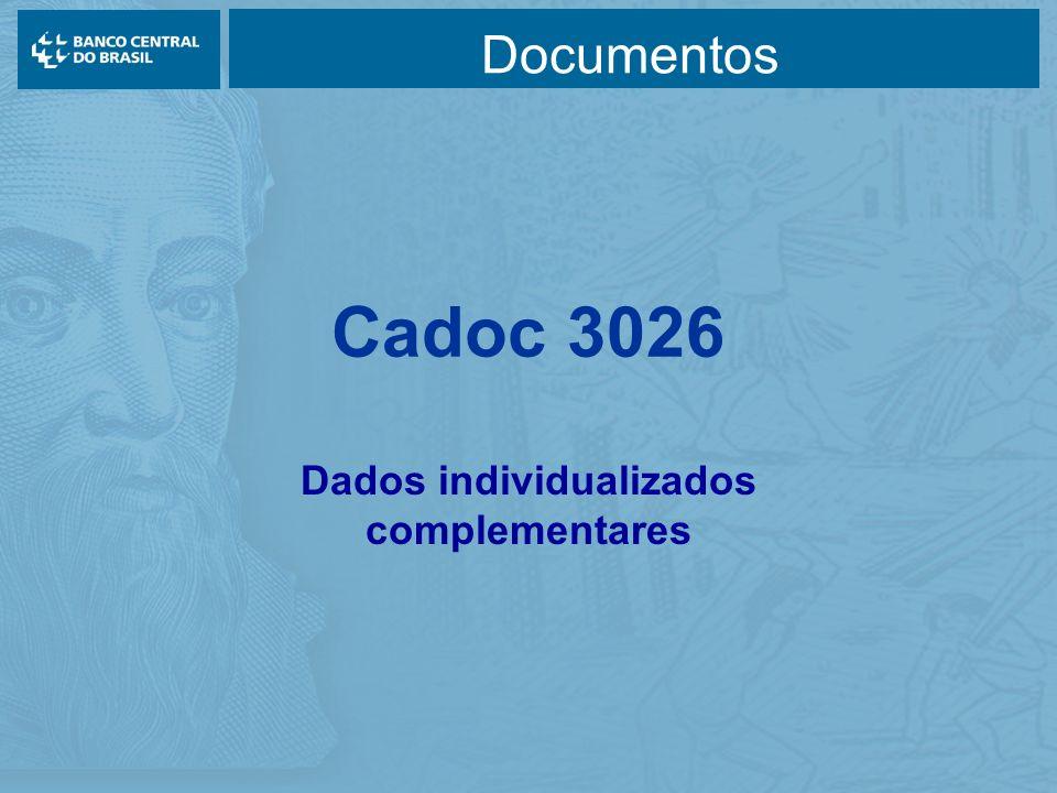 Cadoc 3026 Dados individualizados complementares Documentos