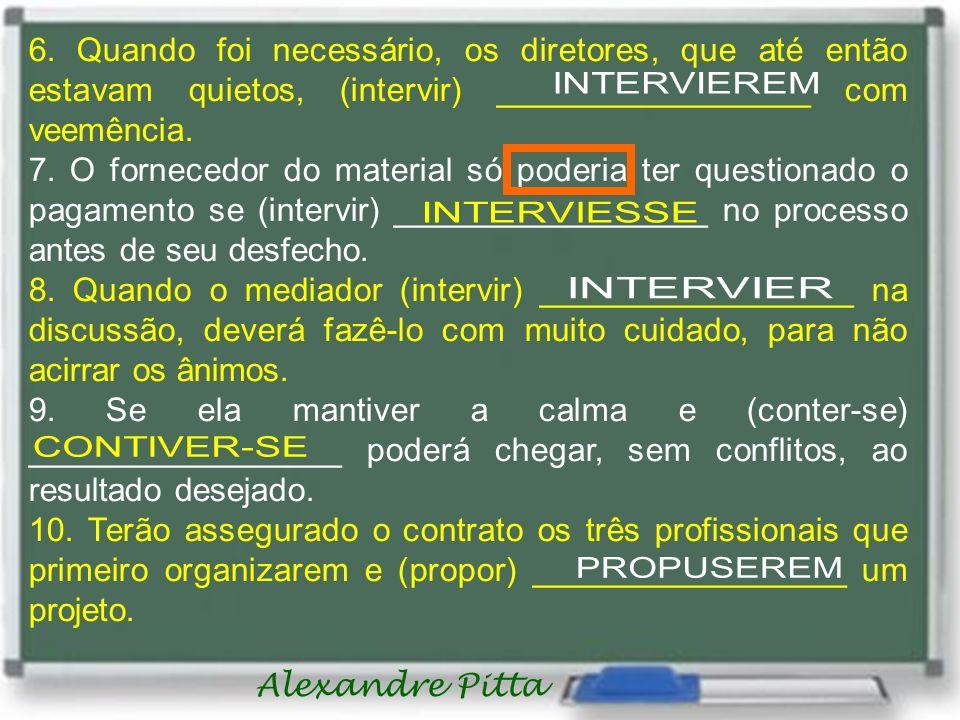 Alexandre Pitta 6.