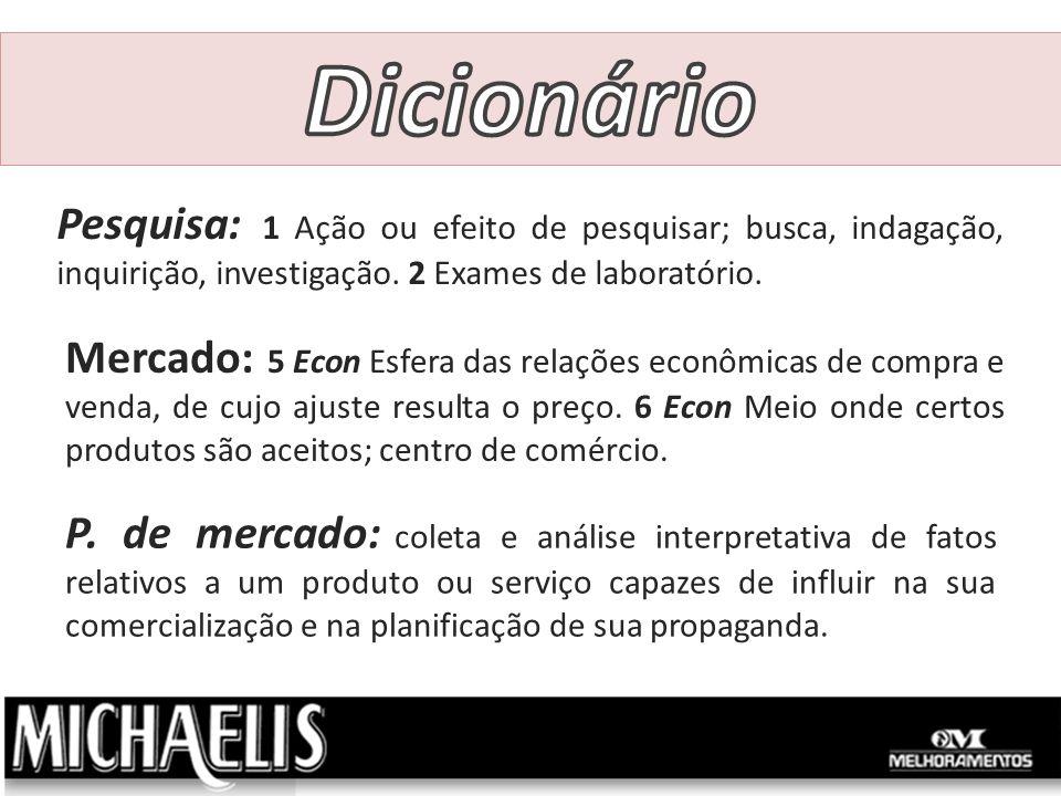Governos e IBGE (Instituto Brasileiro de Geografia e Estatística), a mais importante e abrangente fonte de informações sobre o mercado brasileiro.