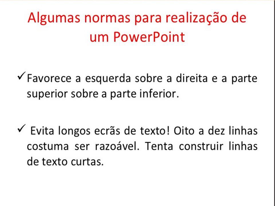 AO ABRIR UM ARQUIVO DO POWERPOINT, FAÇA-O INICIAR A APRESENTAÇÃO IMEDIATAMENTE Se você salvar seu arquivo do PowerPoint usando a opção de salvamento padrão (extensão.ppt no PowerPoint 2003 e anteriores, extensão.pptx na versão 2010), o programa sempre o abrirá de forma que você possa editá-lo.