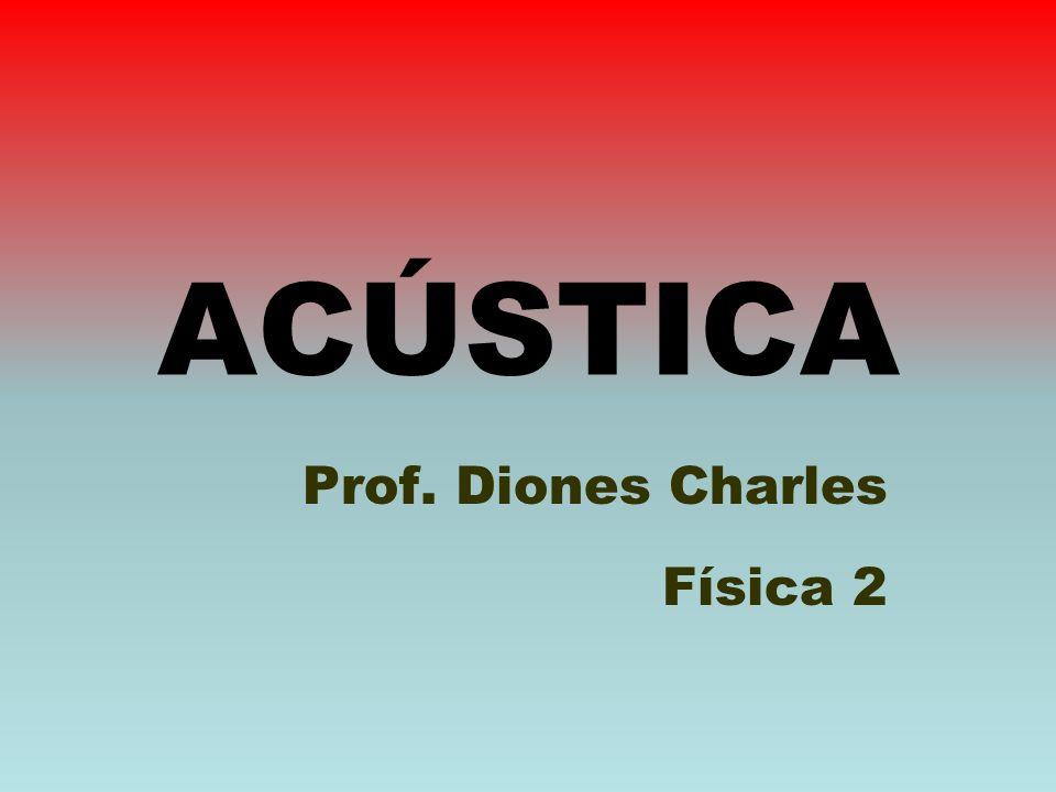 ACÚSTICA Prof. Diones Charles Física 2