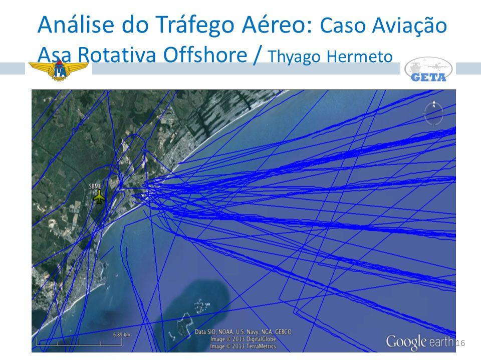 16 Análise do Tráfego Aéreo: Caso Aviação Asa Rotativa Offshore / Thyago Hermeto