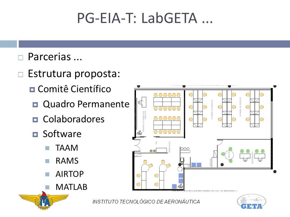 PG-EIA-T: LabGETA...Parcerias...